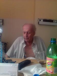 Piotruś 14 tydzień w szpitalu - lipiec 2013(4)_zasromany